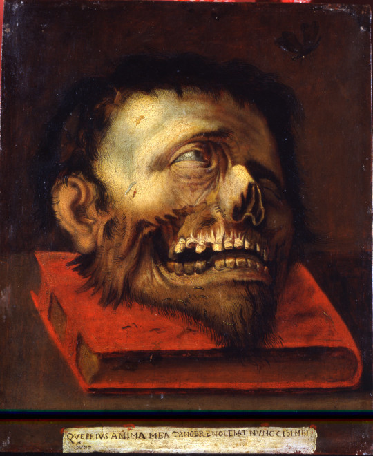 "<span class=""artist""><strong>Circle of Jacopo Ligozzi</strong></span>, <span class=""title""><em>Vanitas</em>, ca. 1600-10</span>"
