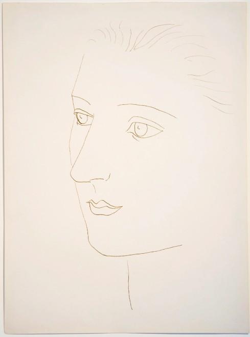 "<span class=""artist""><strong>Pablo Picasso</strong></span>, <span class=""title""><em>Head of a Woman (Sara Murphy)</em>, 1923</span>"
