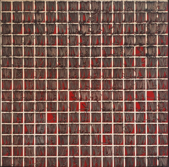 "<span class=""artist""><strong>Emilio Scanavino</strong></span>, <span class=""title""><em>Tramatura (Weave)</em>, 1973</span>"