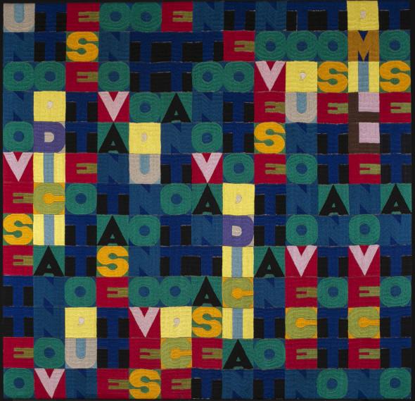 "<span class=""artist""><strong>Alighiero Boetti</strong></span>, <span class=""title""><em>Senza Titolo (MILLENOVECENTO SETTANTOTTO)</em>, 1978</span>"