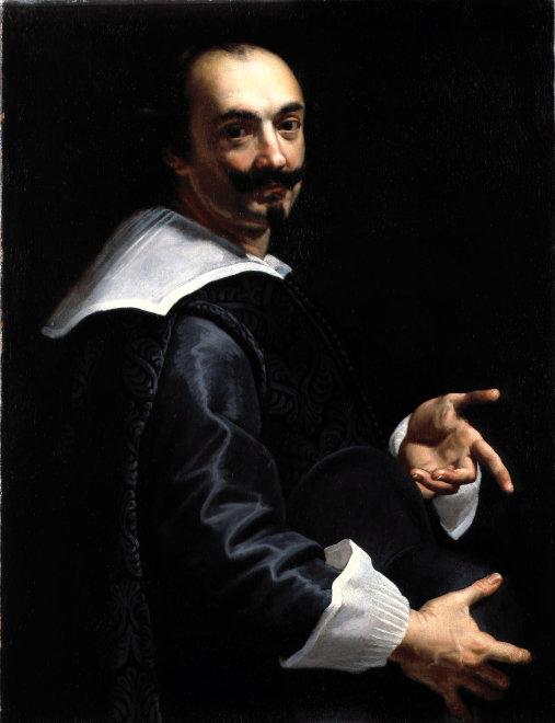 "<span class=""artist""><strong>Roman School</strong></span>, <span class=""title""><em>Portrait of  Giovanni Lanfranco</em>, c. 1640</span>"