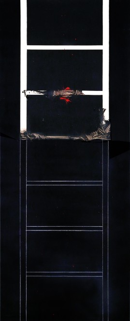 <span class=&#34;artist&#34;><strong>Emilio Scanavino</strong></span>, <span class=&#34;title&#34;><em>La scala impossibile (The Impossible Ladder)</em>, 1974</span>