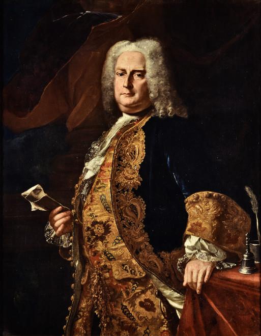 "<span class=""artist""><strong>Francesco Solimena</strong></span>, <span class=""title""><em>Portrait of a Gentleman</em></span>"