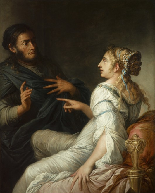 "<span class=""artist""><strong>Salvator Rosa</strong></span>, <span class=""title""><em>Phryne and Xenocrates</em></span>"