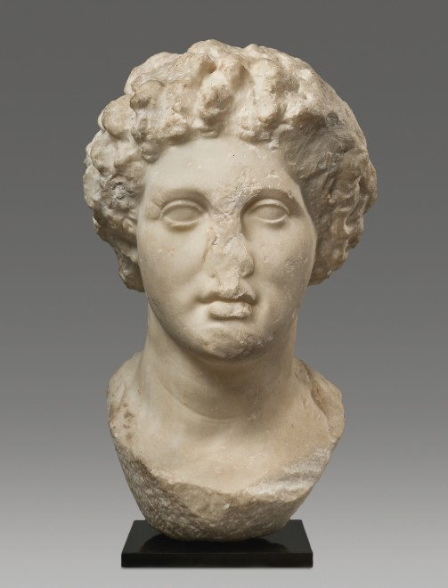 """<span class=""""artist""""><strong>HELLENISTIC GREEK</strong></span>, <span class=""""title""""><em>White fine-grained marble</em></span>"""
