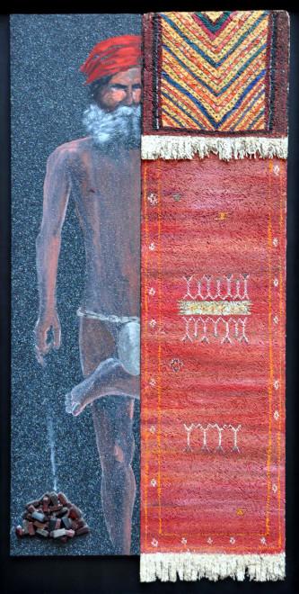 "<span class=""artist""><strong>Aldo Mondino</strong></span>, <span class=""title""><em>Mezzo Notturno indiano</em>, 2001</span>"