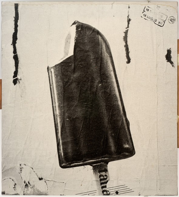 "<span class=""artist""><strong>Mimmo Rotella</strong></span>, <span class=""title""><em>Ice cream</em>, 1963</span>"