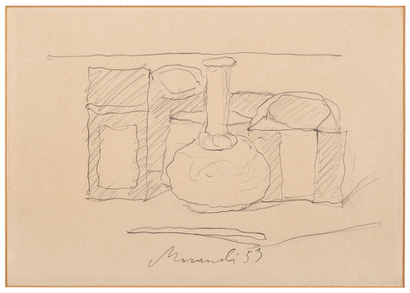 "<span class=""artist""><strong>Giorgio Morandi</strong></span>, <span class=""title""><em>Still Life</em>, 1953</span>"