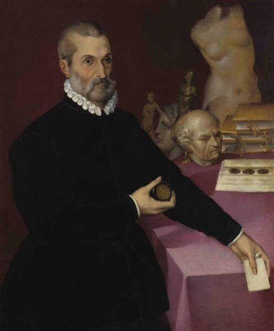 "<span class=""artist""><strong>Bartolomeo Passerotti</strong></span>, <span class=""title""><em>Portrait of a Collector</em></span>"