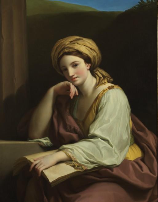 "<span class=""artist""><strong>Anton Raphael Mengs</strong></span>, <span class=""title""><em>A Sibyl</em>, 1761</span>"