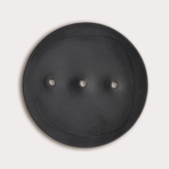 "<span class=""artist""><strong>Lucio Fontana</strong></span>, <span class=""title""><em>Spatial Concept</em>, 1960–63</span>"