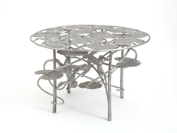 """<span class=""""artist""""><strong>Claude Lalanne</strong></span>, <span class=""""title""""><em>Table Lotus et Singes</em>, 2012</span>"""