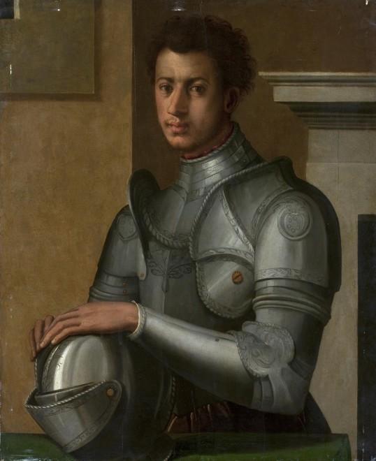 Circle of Bronzino (Agnolo di Cosimo di Mariano), Portrait of Duke Alessandro de' Medici