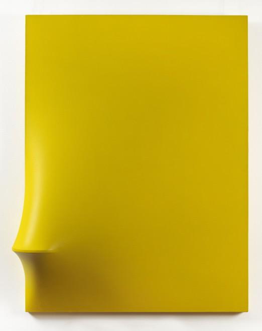 "<span class=""artist""><strong>Agostino Bonalumi</strong></span>, <span class=""title""><em>Giallo</em>, 1967</span>"