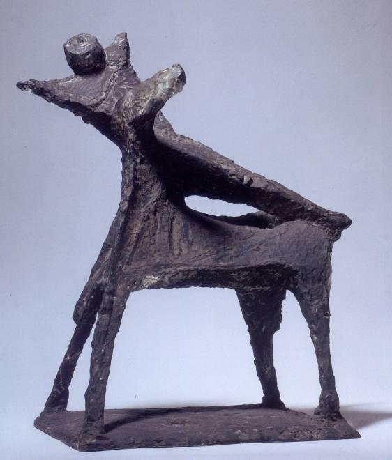 "<span class=""artist""><strong>Marino Marini</strong></span>, <span class=""title""><em>Cavallo e cavaliere, composizione</em>, 1955/56</span>"