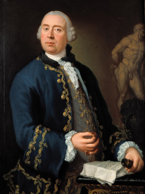 "<span class=""artist""><strong>Louis Gabriel Blanchet</strong></span>, <span class=""title""><em>Ritratto di William Rouet, precettore della famiglia Hope</em>, 1763</span>"