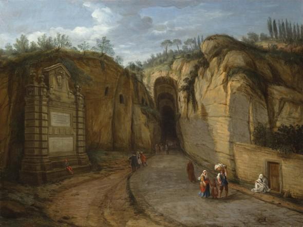 "<span class=""artist""><strong>Gaspar Van Wittel, called Vanvitelli</strong></span>, <span class=""title""><em>View of the Grotta di Posillipo at Naples</em>, 1701-1736</span>"
