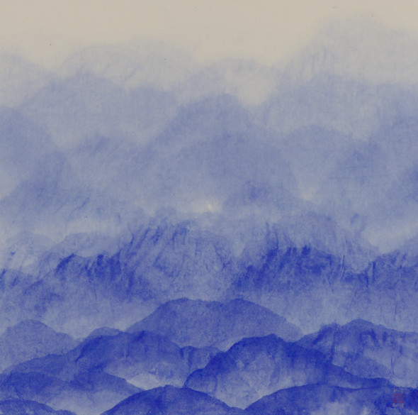 <span class=&#34;artist&#34;><strong>Minjung Kim</strong></span>, <span class=&#34;title&#34;><em>Mountain Blue</em>, 2018</span>