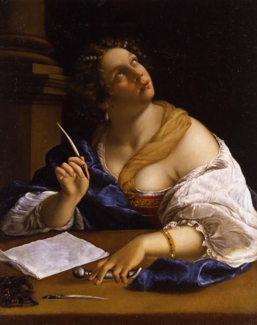 <span class=&#34;artist&#34;><strong>Prudentia Gentileschi (?)</strong></span>, <span class=&#34;title&#34;><em>Allegory Of Rhetoric</em></span>