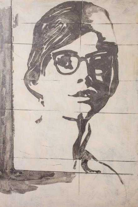 "<span class=""artist""><strong>Giosetta Fioroni</strong></span>, <span class=""title""><em>Gli Occhiali (The Glasses)</em>, 1968</span>"