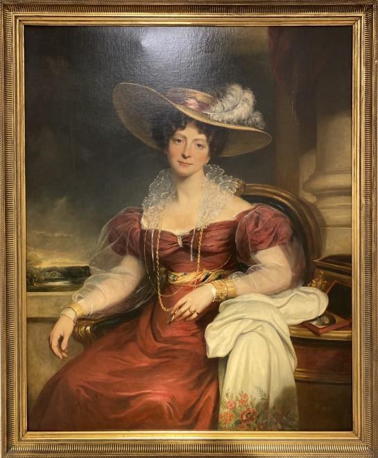 "<span class=""artist""><strong>Sir Martin Archer Shee P.R.A.</strong></span>, <span class=""title""><em>Elizabeth, Duchess of Rutland</em>, 1820</span>"