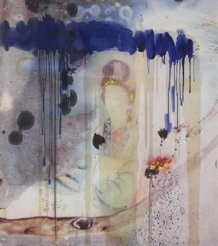 "<span class=""artist""><strong>Julian Schnabel</strong></span>, <span class=""title""><em>Untitled (Chinese Painting)</em>, 2008</span>"