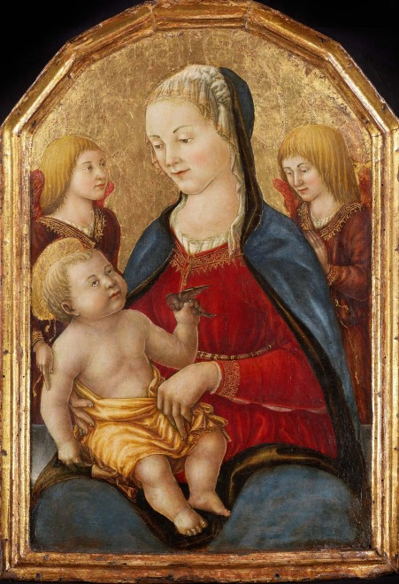 "<span class=""artist""><strong>Familiare Del Boccati</strong></span>, <span class=""title""><em>Madonna and Child</em></span>"