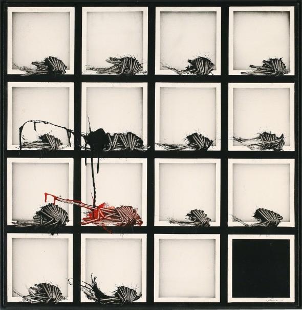 "<span class=""artist""><strong>Emilio Scanavino</strong></span>, <span class=""title""><em>Alfabeto senza fine (The Endless Alphabet)</em>, 1974</span>"