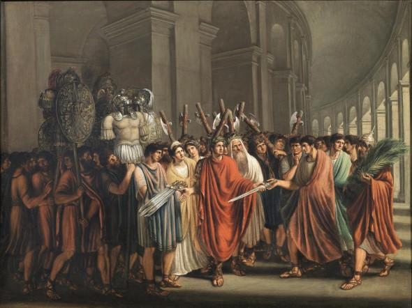 "<span class=""artist""><strong>Luigi Ademollo</strong></span>, <span class=""title""><em>Circus Games In Ancient Rome</em></span>"