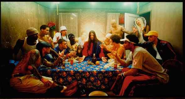 "<span class=""artist""><strong>David Lachapelle</strong></span>, <span class=""title""><em>Last Supper</em>, 2008</span>"