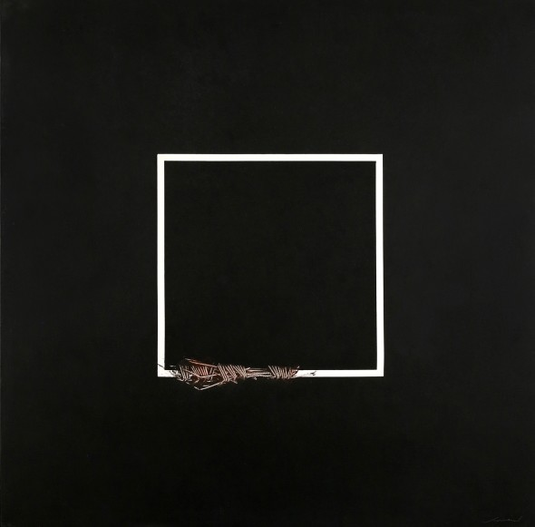 <span class=&#34;artist&#34;><strong>Emilio Scanavino</strong></span>, <span class=&#34;title&#34;><em>Modificazione di un lato del quadrato (Modification of a Side of the Square)</em>, 1073</span>