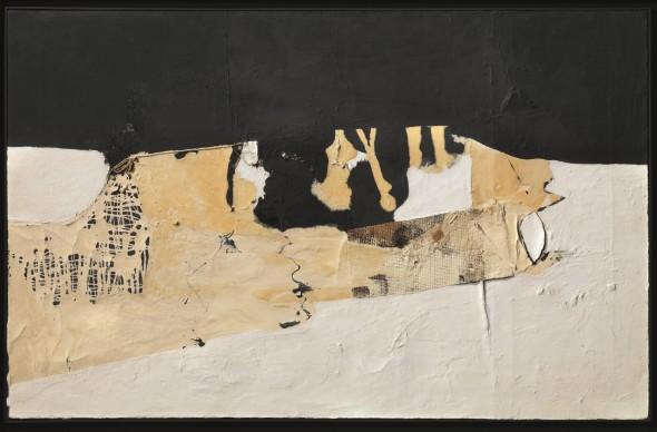 "<span class=""artist""><strong>Alberto Burri</strong></span>, <span class=""title""><em>Bianco Nero</em>, 1952</span>"
