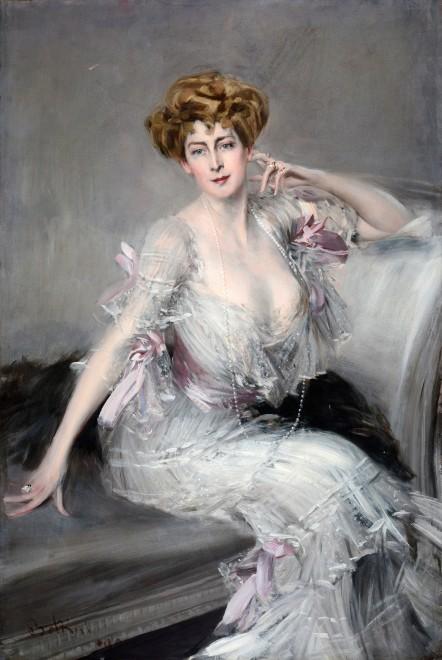 "<span class=""artist""><strong>Giovanni Boldini</strong></span>, <span class=""title""><em>Portrait of Anna Elisabeth (née Been) Hansen</em>, 1902</span>"