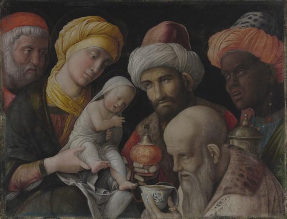 Andrea Mantegna, Adoration of the Magi, ca. 1495–1505
