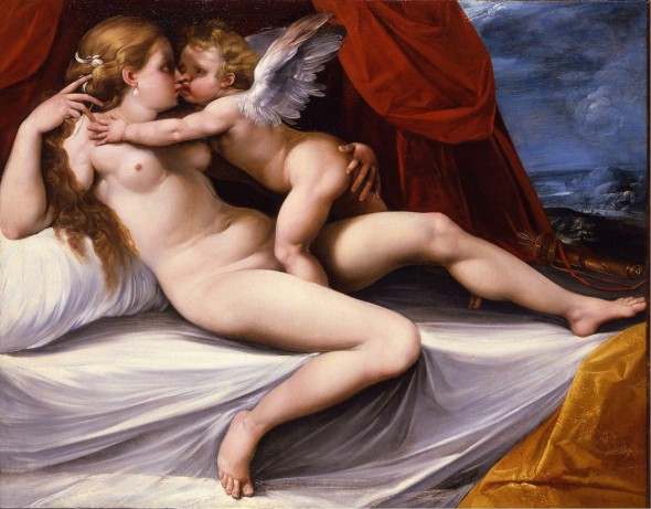 "<span class=""artist""><strong>Giuseppe Cesari called Cavalier D'Arpino</strong></span>, <span class=""title""><em>Venus and Cupid</em></span>"