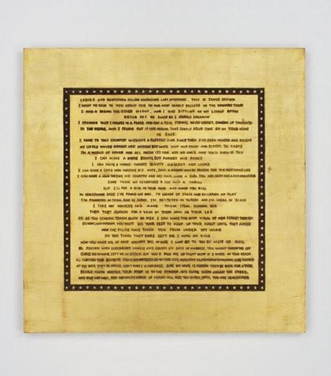 "<span class=""artist""><strong>Tom Sachs</strong></span>, <span class=""title""><em>King Heroin</em>, 2011</span>"