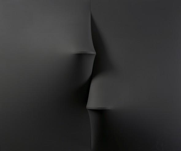 "<span class=""artist""><strong>Agostino Bonalumi</strong></span>, <span class=""title""><em>Nero</em>, 1967</span>"