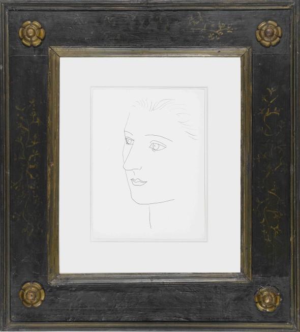 "<span class=""artist""><strong>Pablo Picasso</strong></span>, <span class=""title""><em>Tete de femme: Sara Murphy</em>, 1923</span>"