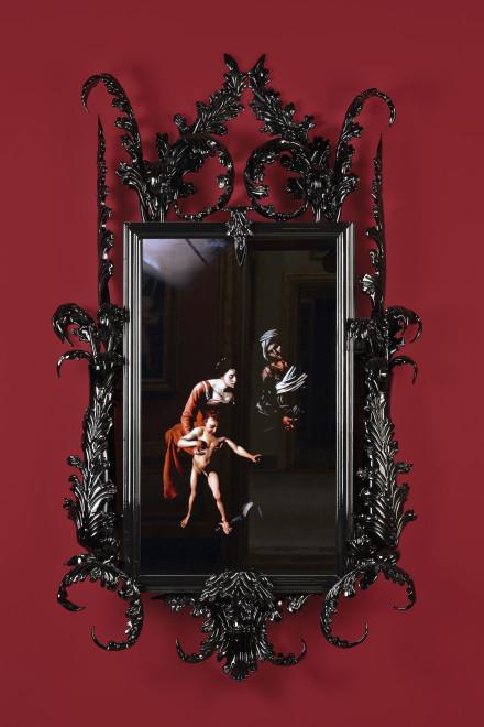 "<span class=""artist""><strong>Mat Collishaw</strong></span>, <span class=""title""><em>Black Mirror, Leo Minor</em>, 2014</span>"