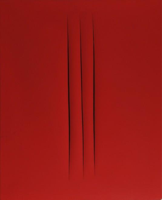 "<span class=""artist""><strong>Lucio Fontana</strong></span>, <span class=""title""><em>Concetto spaziale. Attese</em>, 1967</span>"