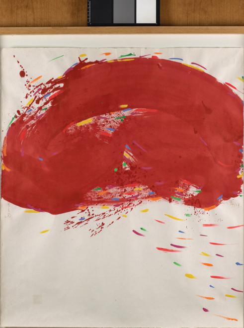 "<span class=""artist""><strong>Hsiao Chin</strong></span>, <span class=""title""><em>Red Cloud - 7</em>, 1988</span>"
