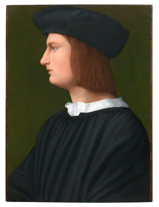 """<span class=""""artist""""><strong>Tommaso di Stefano Lunetti, called Tommaso Fiorentino</strong></span>, <span class=""""title""""><em>Portrait of a Young Man in Profile</em></span>"""