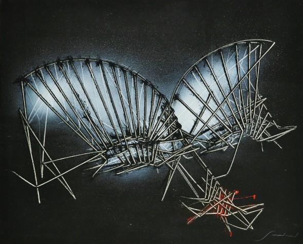<span class=&#34;artist&#34;><strong>Emilio Scanavino</strong></span>, <span class=&#34;title&#34;><em>La farfalla (The Butterfly)</em>, 1985</span>