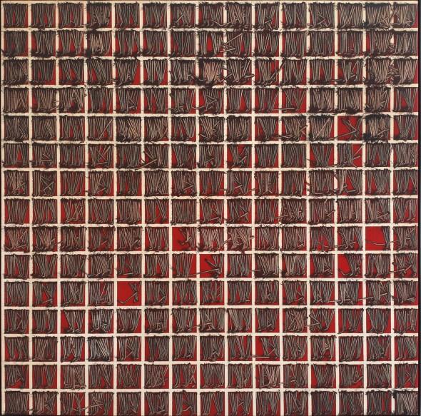 <span class=&#34;artist&#34;><strong>Emilio Scanavino</strong></span>, <span class=&#34;title&#34;><em>Tramatura (Weave)</em>, 1973</span>