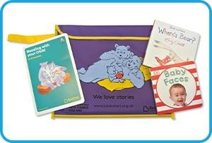 Bookstart packs for all