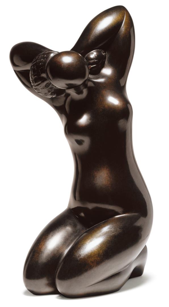 Baltasar Lobo, Femme avec queue de cheval, 1970