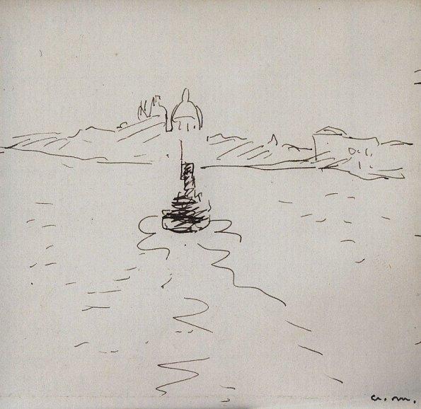 La Salute vue du Canal de San Marco