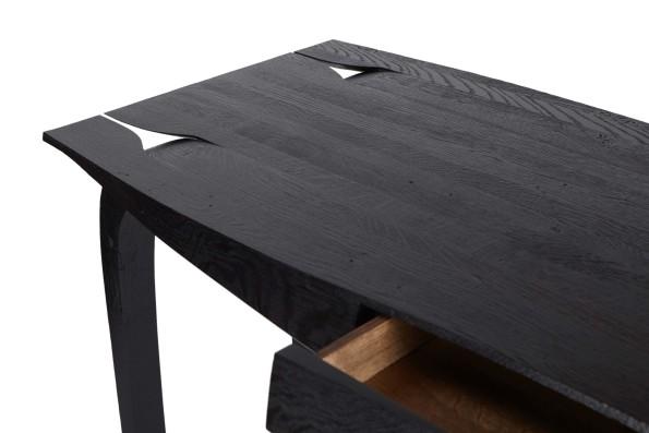 Oak desk: Design No 5