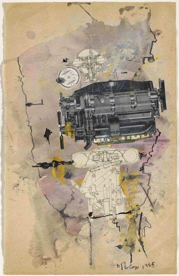 Eduardo Paolozzi, Machine Head, 1952
