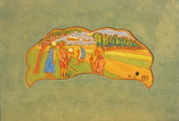 Louis Roy, Les Apprentis Jardiniers, 1902